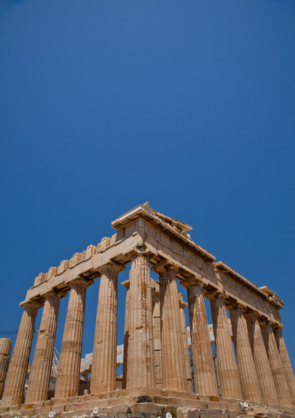 South-East corner of the Parthenon. Copyright Haydn Williams 2011