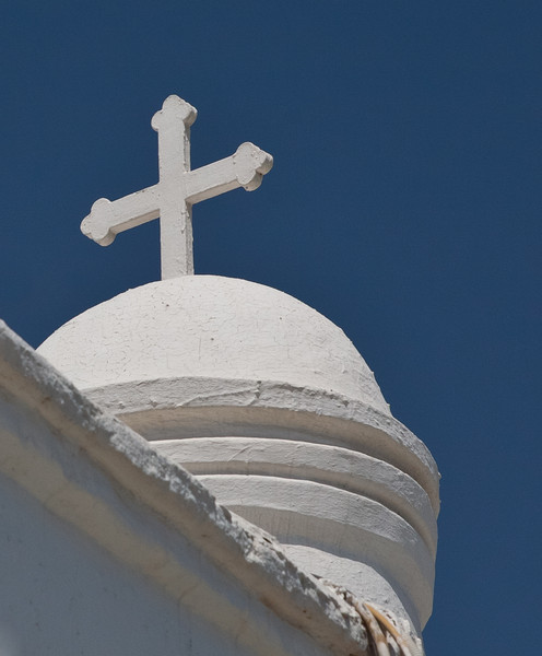 The Chapel of Saint George on the summit of Mount Lycabettus. Copyright Haydn Williams 2011