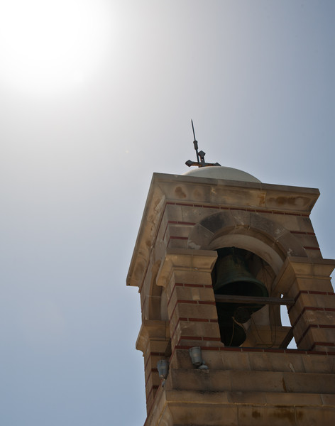 Bell tower on Mount Lycabettus. Copyright Haydn Williams 2011