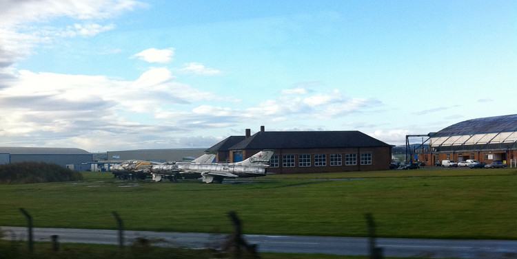 Broughton airfield, where airbus wings are born. Copyright Haydn Williams 2011