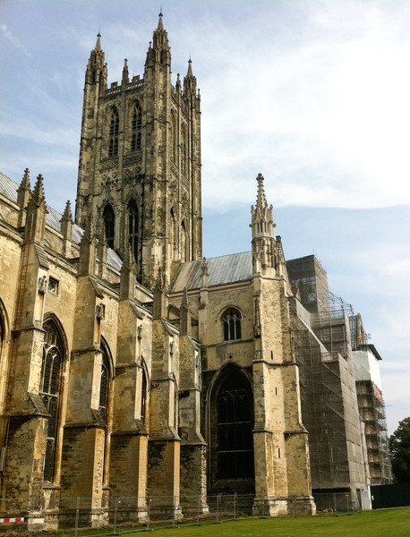 Canterbury Cathedral. Copyright Haydn Williams 2011