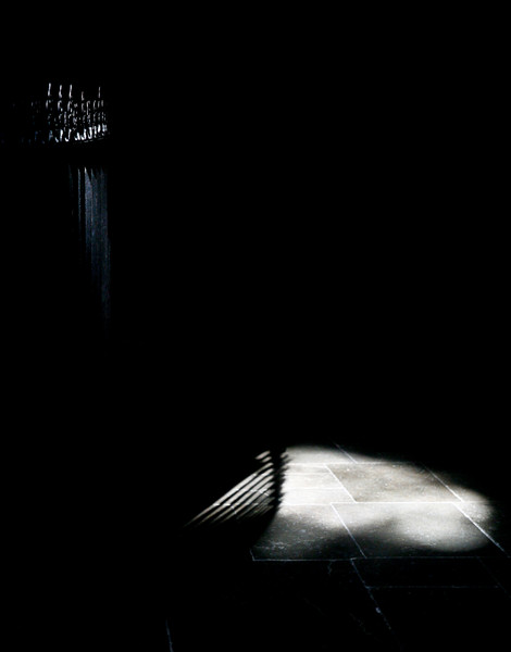 Light and shadow in the Trinity Chapel. Copyright Haydn Williams 2011
