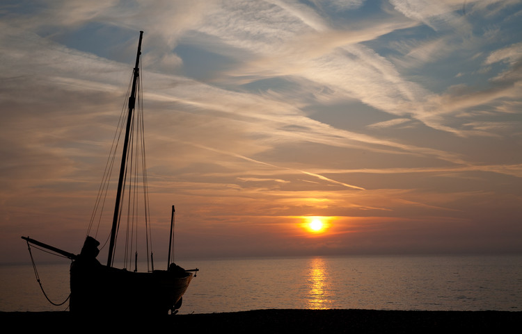 Sunrise on Deal beach. Copyright Haydn Williams 2011