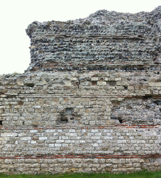 Yes it's just a wall. But a wall that's been there 1,800 years. Richborough roman fort. Copyright Haydn Williams 2011