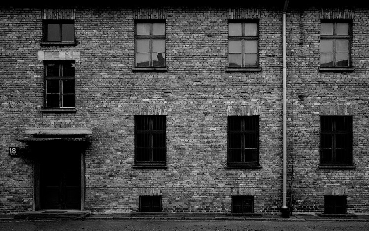 Auschwitz-I. © Haydn Williams 2011