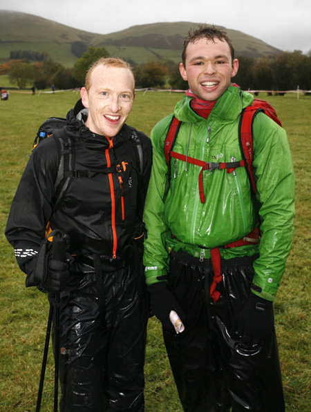 The end of our first OMM. Soggy but still smiling.  21CPhotos