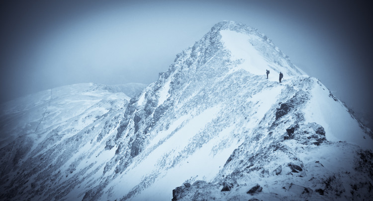 Descending Stob Bân to Glen Nevis. © Haydn Williams 2012