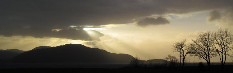 Evening light over Loch Linnhe. © Haydn Williams 2012