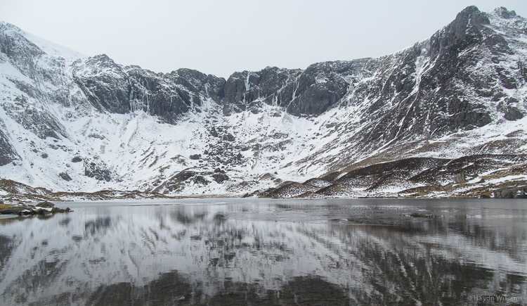 Cwm Idwal looking promising.  Haydn Williams 2013