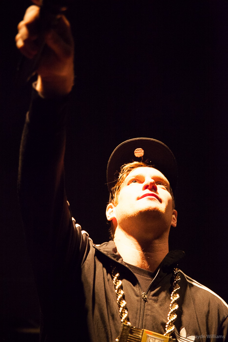 MC Lars - Rock City, Feb 2016. © Haydn Williams 2016