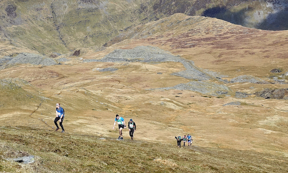 Approaching the summit of Moelwyn Mawr, me at the front (of this group, anyway!). © Nick Moseley https://www.flickr.com/photos/in3dimensions/