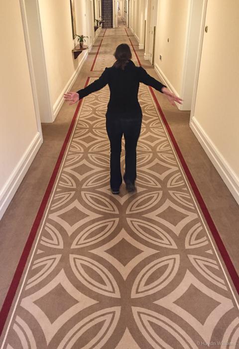 Biggest. Corridor. Ever. © Haydn Williams 2016