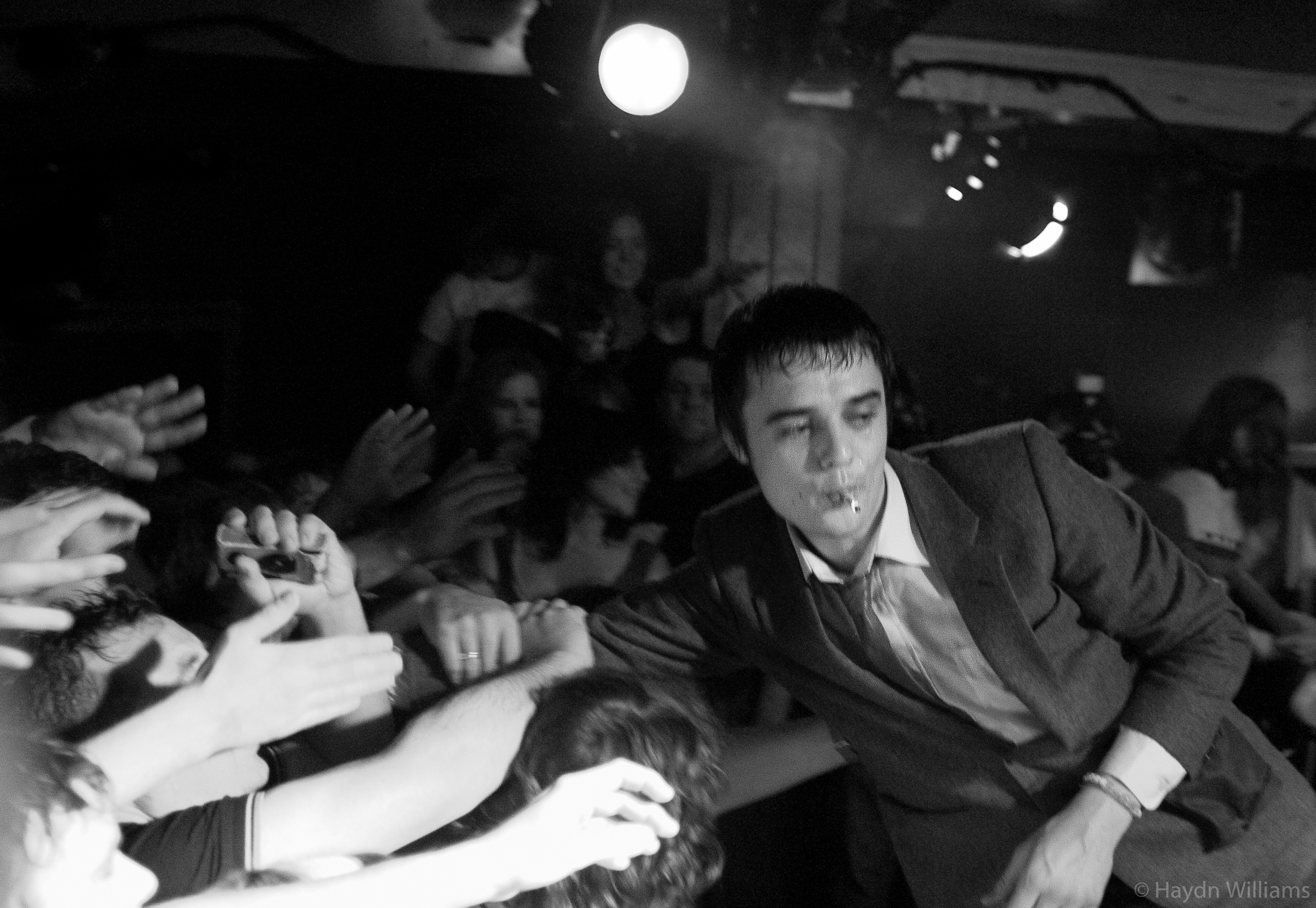 Babyshambles - The Charlotte, Leicester - September 2004. © Haydn Williams 2004