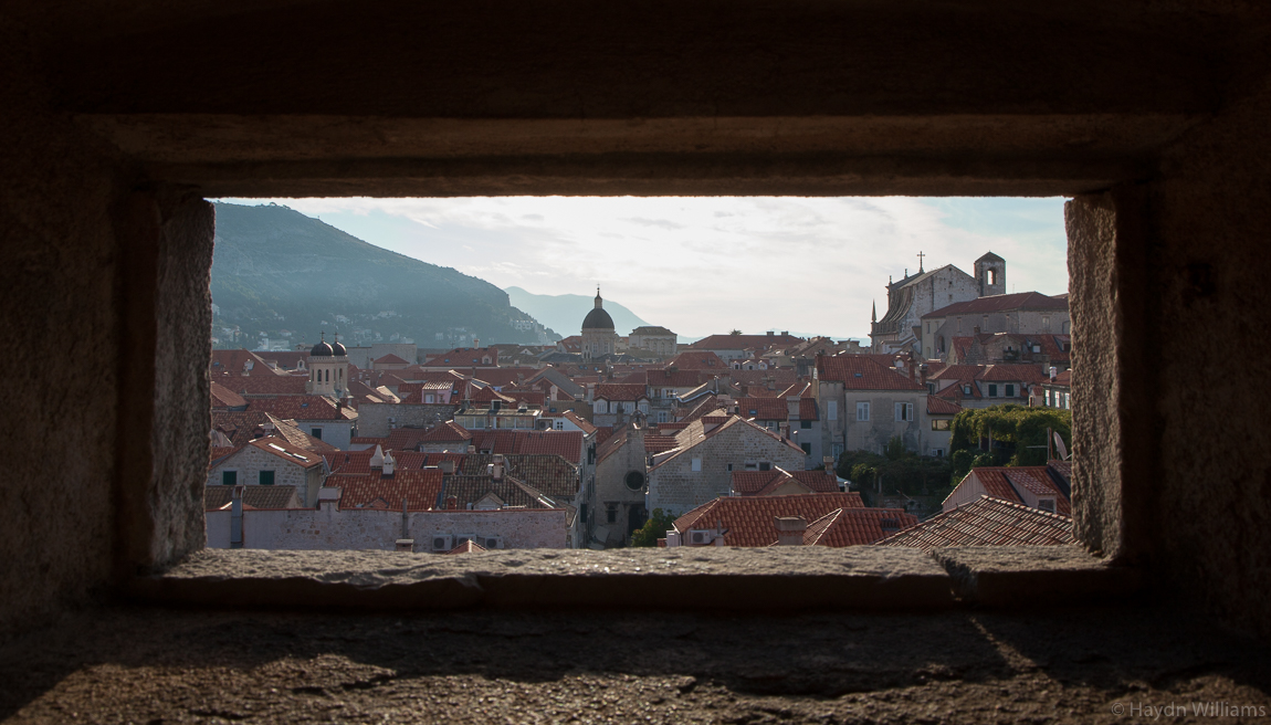 Old Town from the city walls. ©Haydn Williams 2017