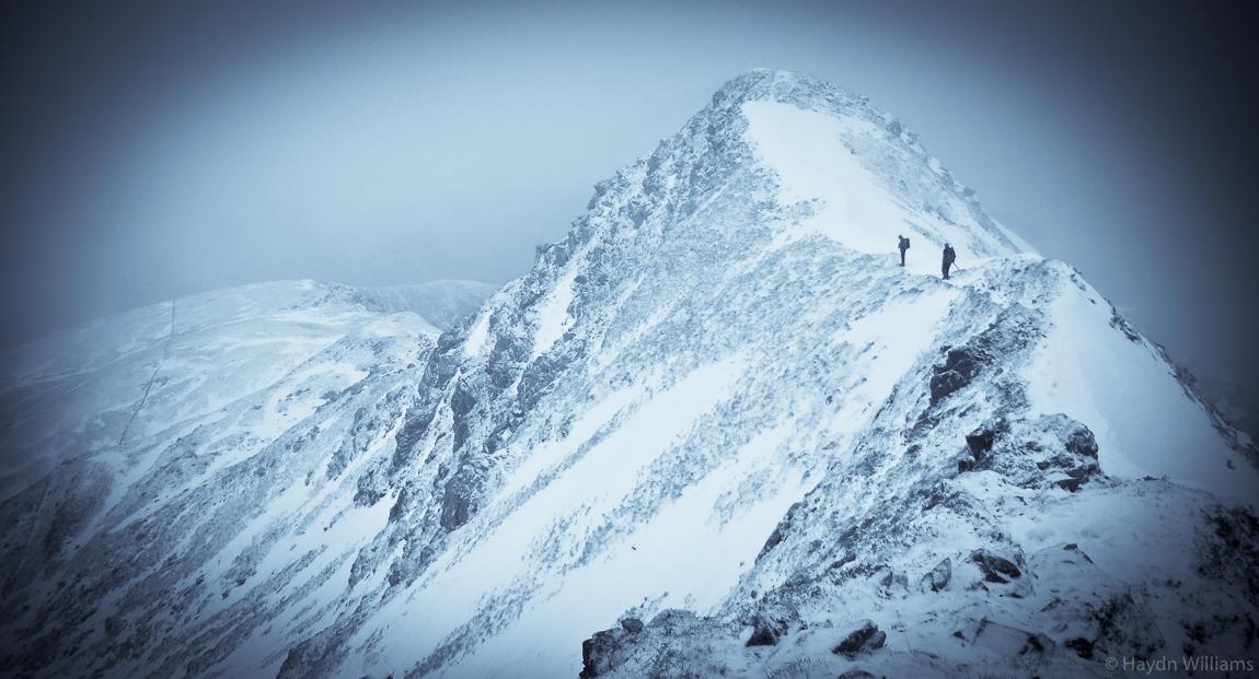 North ridge of Stob Ban, the Mamores. © Haydn Williams 2012