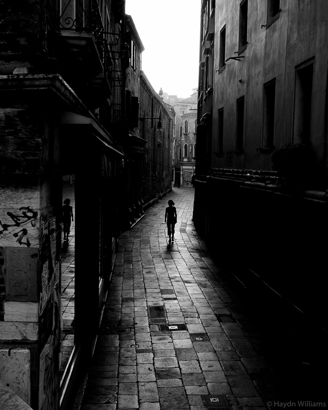 Before the crowds, Venice. © Haydn Williams 2008