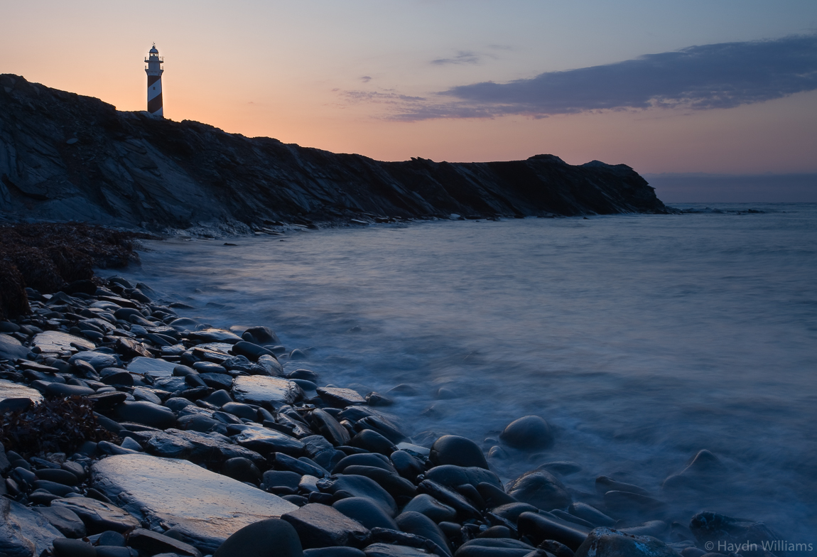 Sunrise over Far de Favaritx lighthouse, Menorca. © Haydn Williams 2008