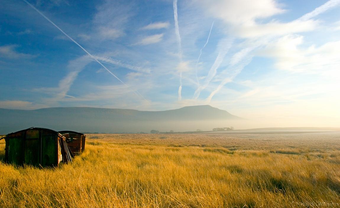 Scales Moor and Ingleborough, Yorkshire Dales. ©Haydn Williams 2006