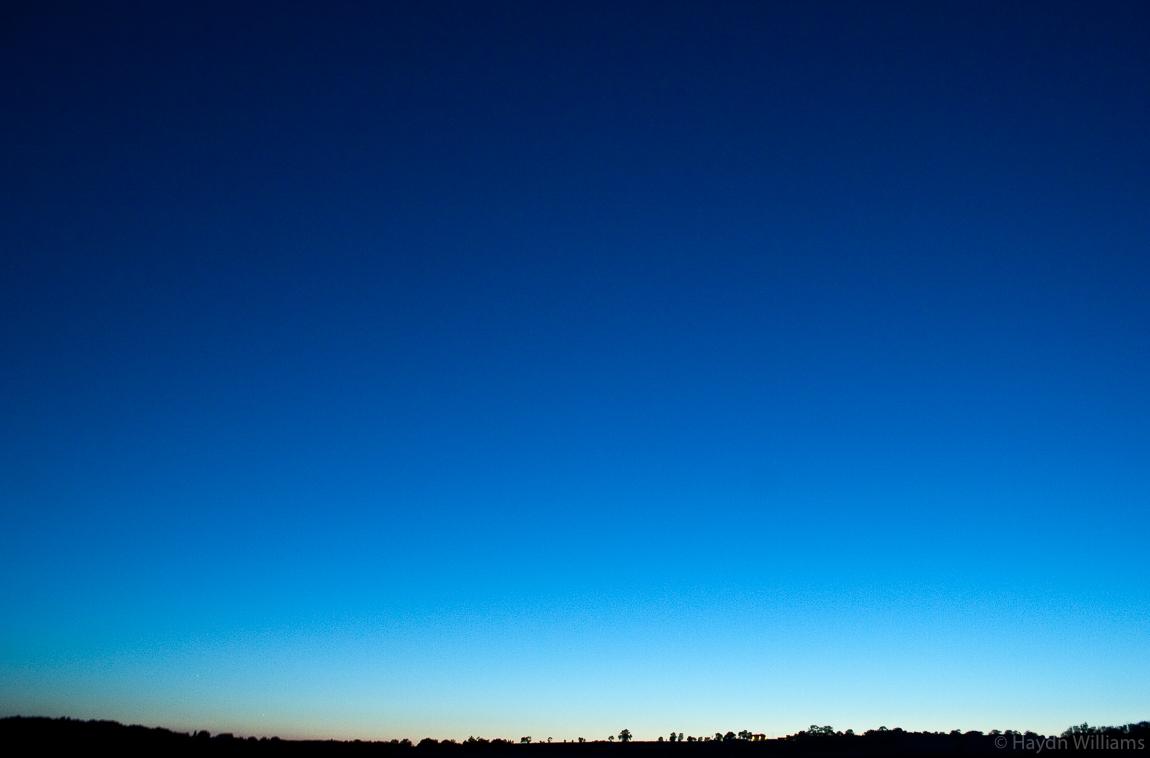 Bedfordshire sunset. © Haydn Williams 2005