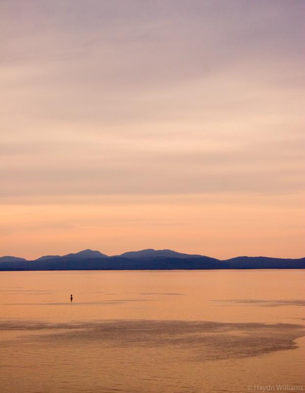 Evening light on the Inside Passage, Alaska. © Haydn Williams 2005