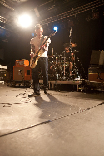 <strong>Gaslight Anthem, Rock City.</strong><br />Copyright Haydn Williams 2009.
