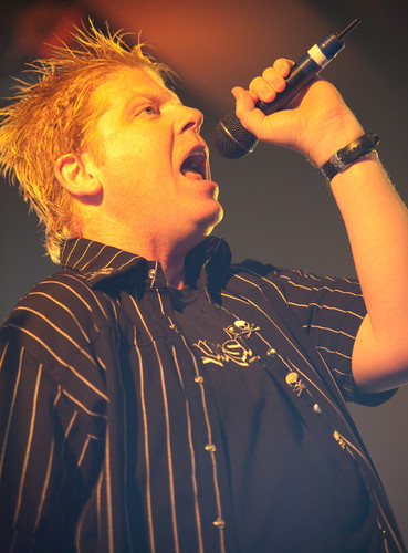 <strong>Dexter Holland.</strong><br />Copyright Haydn Williams 2009