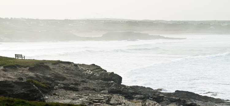 Constantine's Bay looking blustery. Copyright Haydn Williams 2010