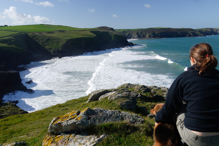 Quintessential Cornwall: Port Quin Bay from Doyden Point. Copyright Haydn Williams 2010.