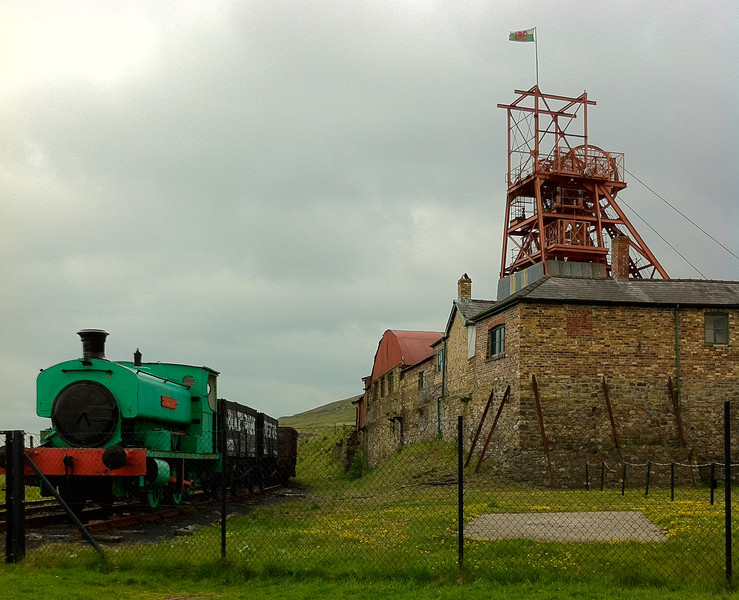 """Nothing says """"South Wales"""" quite like a coal mine. Copyright Haydn Williams 2011"""