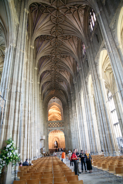 Cathedral is massive. This is the nave. Copyright Haydn Williams 2011