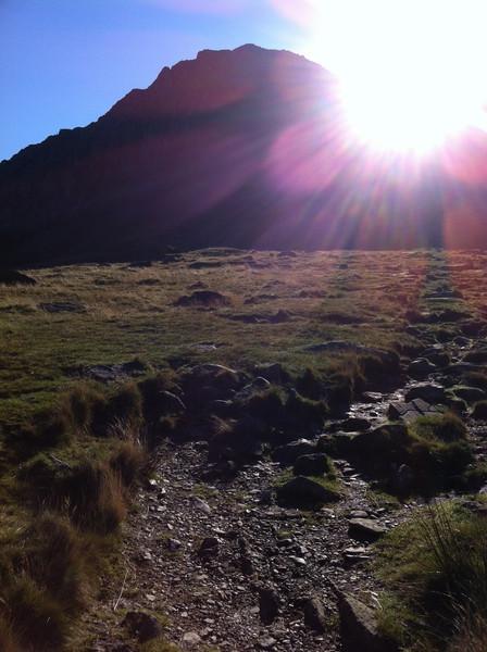The top half of the north ridge of Tryfan. © Haydn Williams 2011