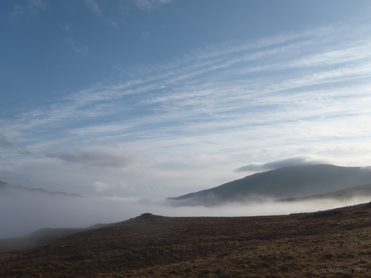 Our cottage is somewhere at the bottom of that cloud! © Haydn Williams 2012