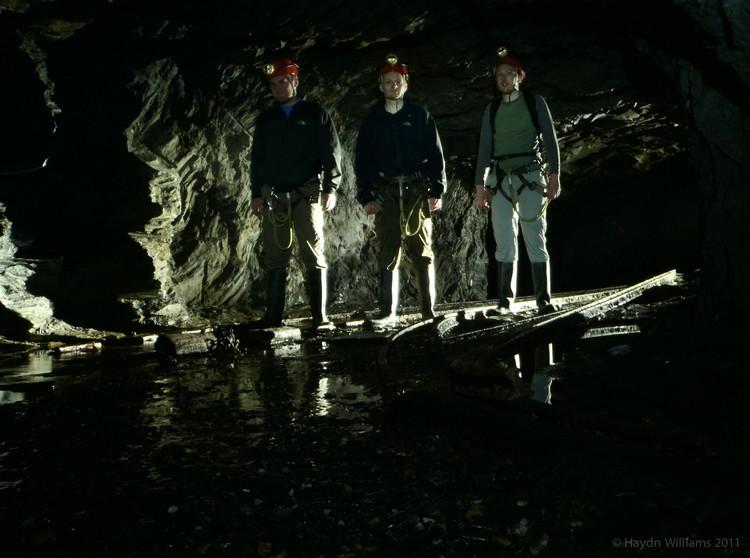 Intrepid explorers / tour clients. © Haydn Williams 2012