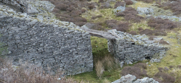 This is the only remaining incline bridge made of timber IN THE WORLD! All the others are either made of stone or have rotted away. © Haydn Williams 2012
