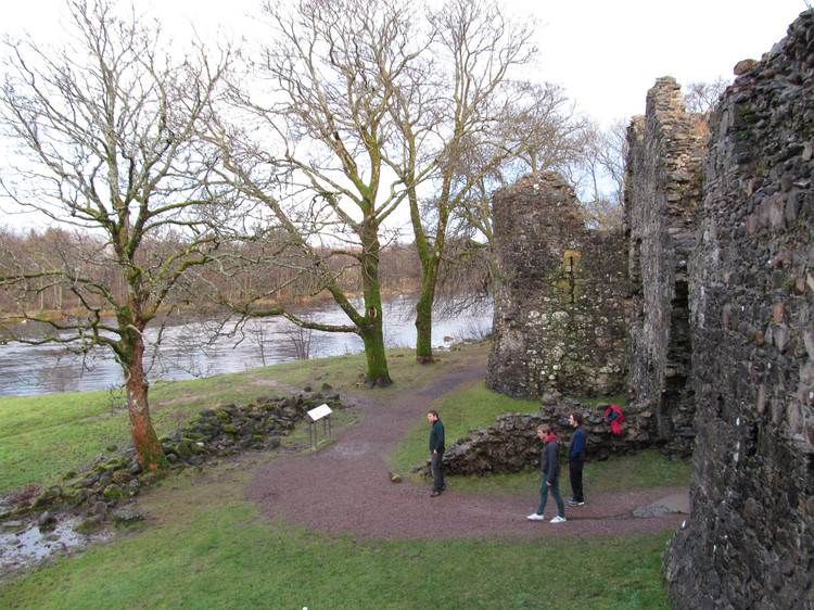 Inverlochy Castle, built in the 13th Century. © Haydn Williams 2012