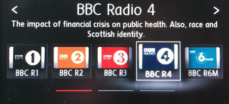 DAB radio station logos using the files I created. Available for download via the link above.