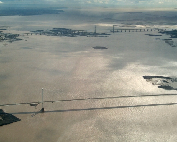 Mouth of the River Severn. From Wikimedia Commons: http://commons.wikimedia.org/wiki/File:Severn_Aerial.jpg