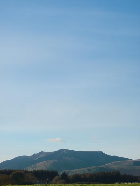 Blencathra from afar. © Haydn Williams 2014
