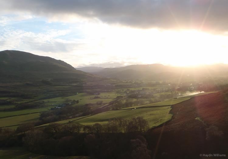View from Doddick Fell. © Haydn Williams 2014