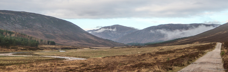Glen Lui: the first view of the day. © Haydn Williams 2014