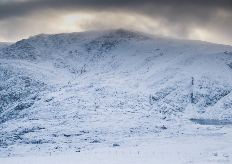 I will never get tired of this view. Glyder Fawr from Y Garn. © Haydn Williams 2014