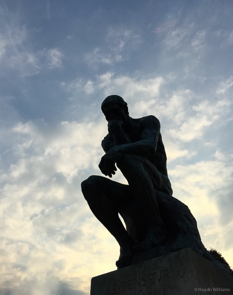 The Thinker. © Haydn Williams 2015