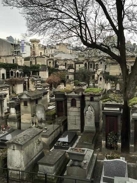 Montmartre Cemetery. © Haydn Williams 2015