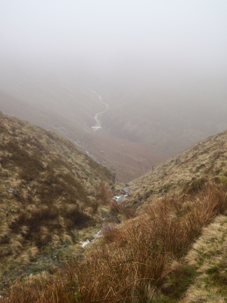 Alport Dale. There's a river down there somewhere. ©Haydn Williams 2015
