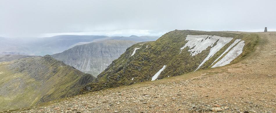Helvellyn summit plateau. © Haydn Williams 2015