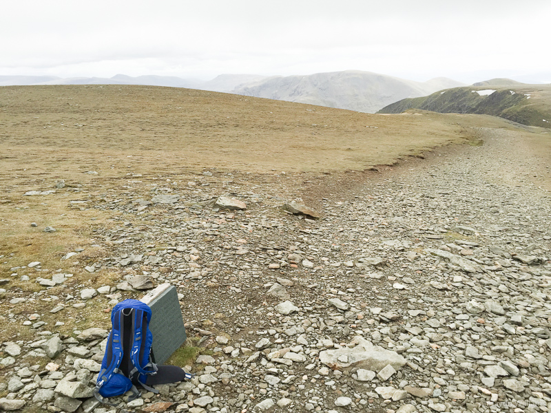 Site of the first plane to land on a mountain. Mental. ©Haydn Williams 2015