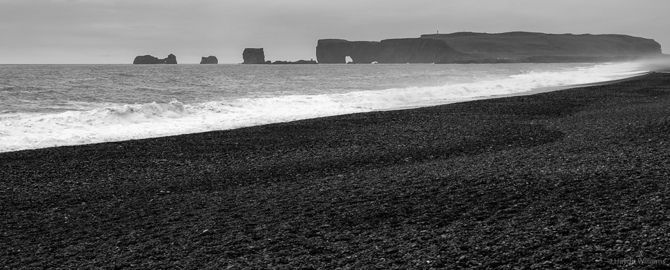 Reynisfjara Beach. © Haydn Williams 2015