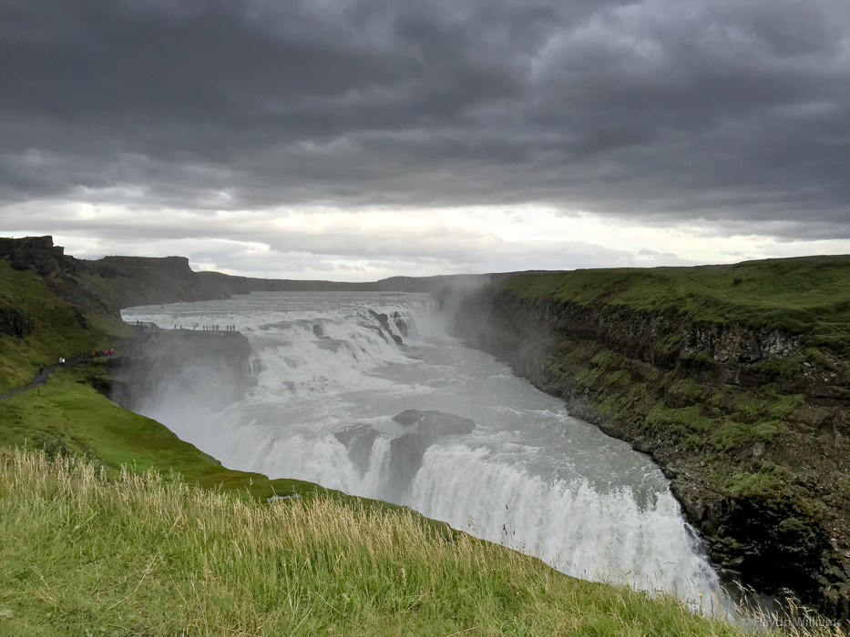 Gullfoss. It's huge. © Haydn Williams 2015