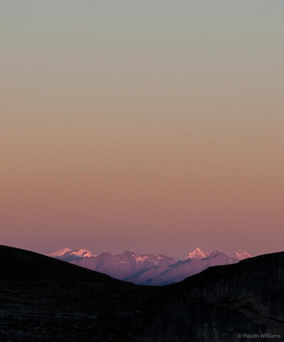 Distant hills. © Haydn Williams 2016