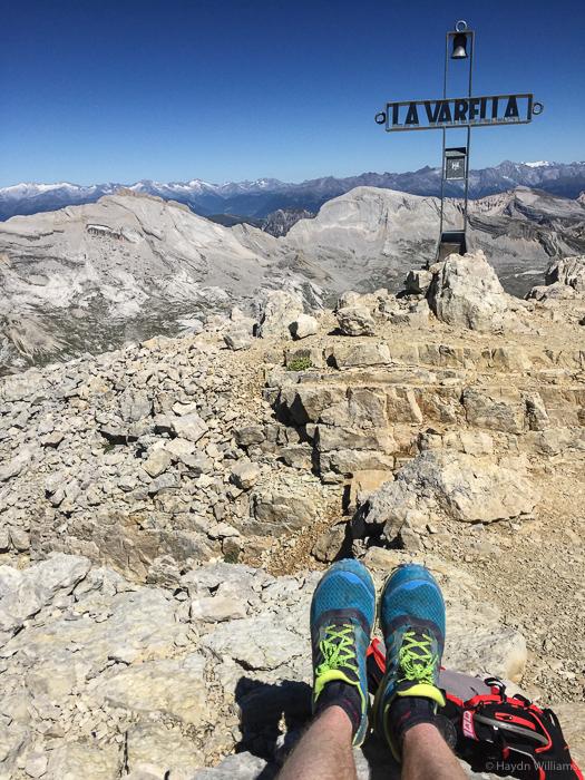 At the summit of La Varella. ©Haydn Williams 2016